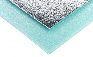 Comfort Silver Laminate and Hardwood Underlay
