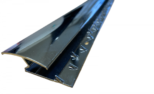 Premium Carpet Metal Z Section Chrome